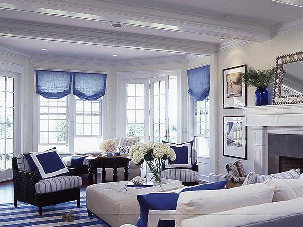 Room Gallery Myhomeideas Com Blue Living Room Coastal Living Rooms Home Living room new england design