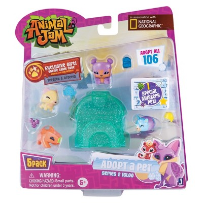 Animal Jam - Adopt a Pet Igloo 5pk - Style 5   Animal jam ...