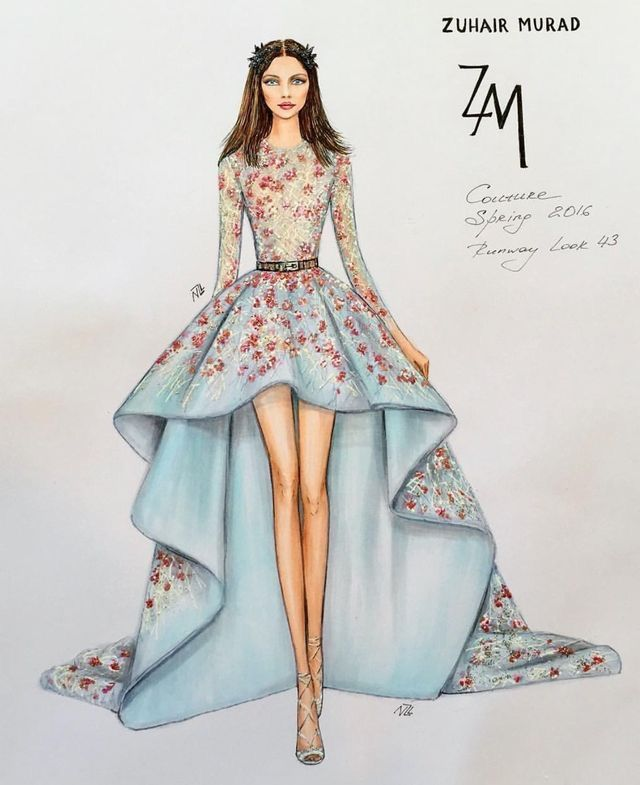 c106f1be35b Pin by H O U D A on FASHION ILLUSTRATIONS | Fashion drawing dresses, Fashion  design drawings, Fashion design sketches