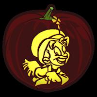 Lucky Charms Leprechaun - Pumpkin Stencil