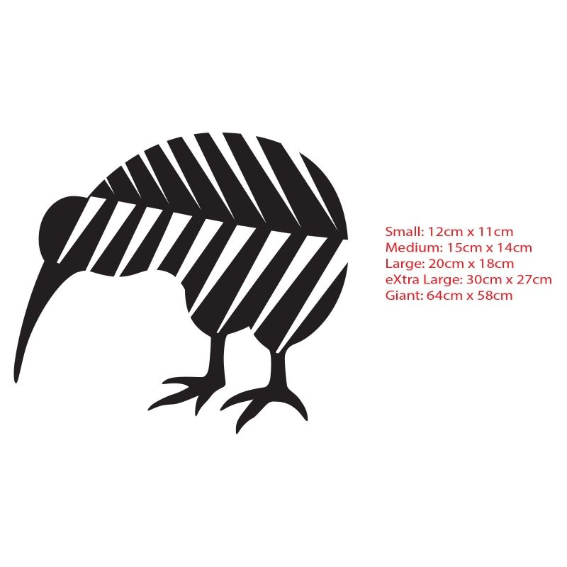 Kiwibirdinsilverfernnewzealandnzsymbolcarboatdecal - Wall decals nzsilver fern kia ora new zealand maori wall sticker vinyl decal ebay