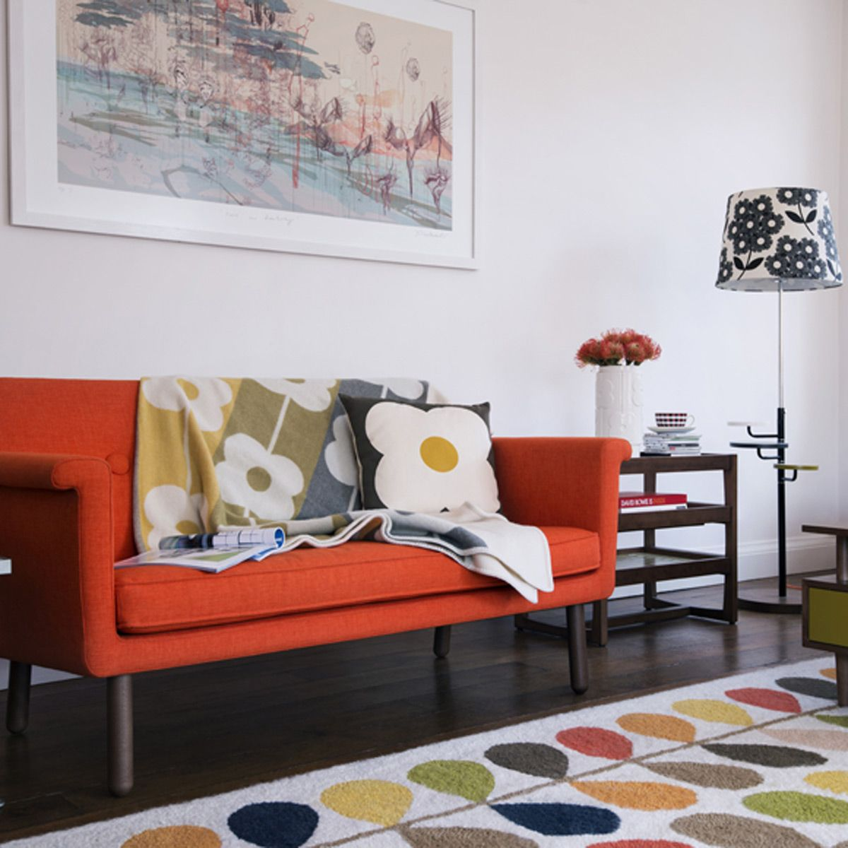 Orla Kiely Living Room At Http Www Goodhousekeeping Co
