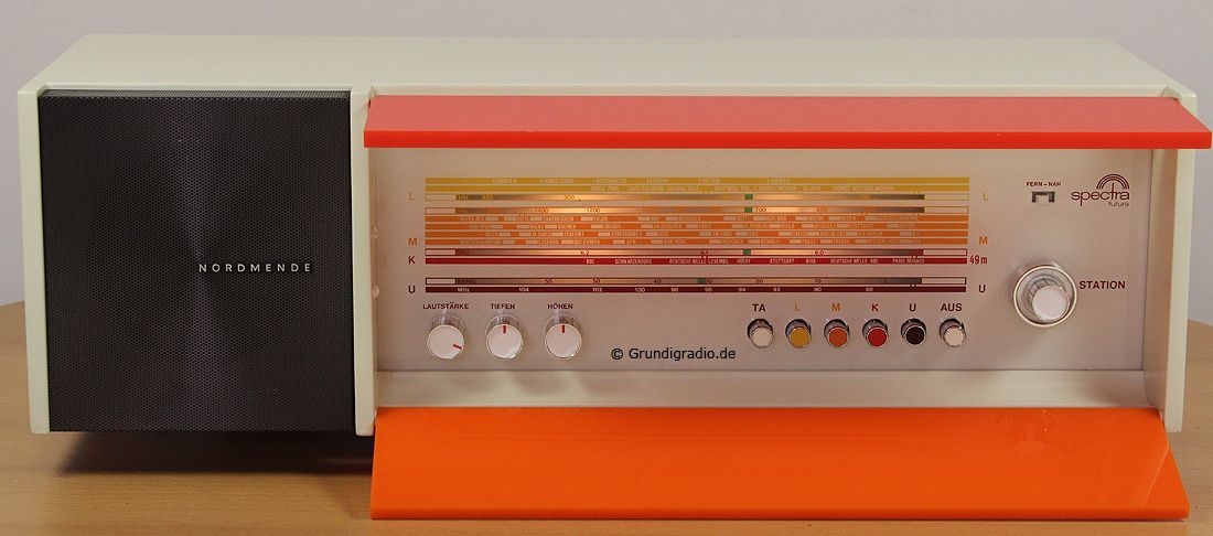 Nordmende Spectra Futura Spectrum, Radio, Kitchen appliances