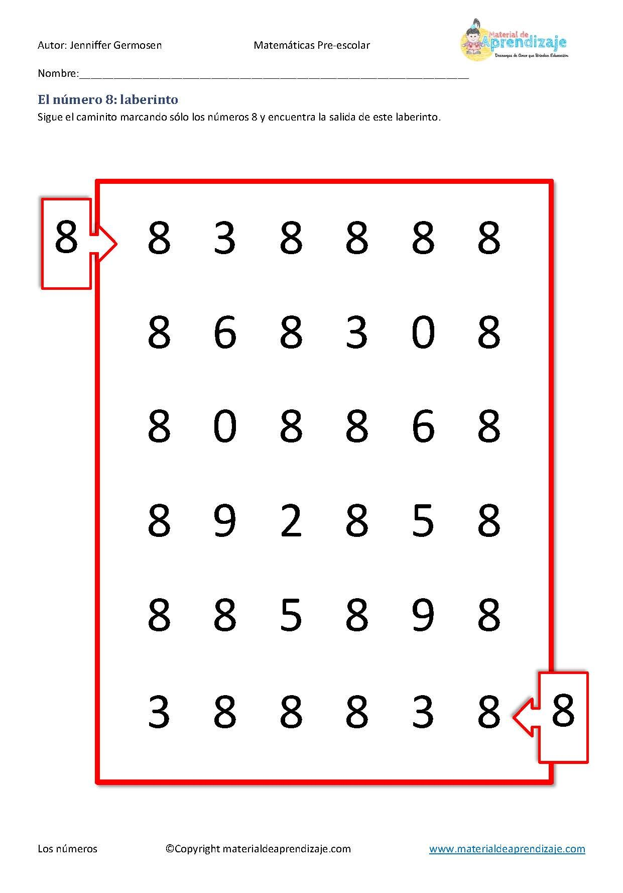 Perfecto Matemáticas Hoja Laberinto Imágenes - hojas de trabajo ...