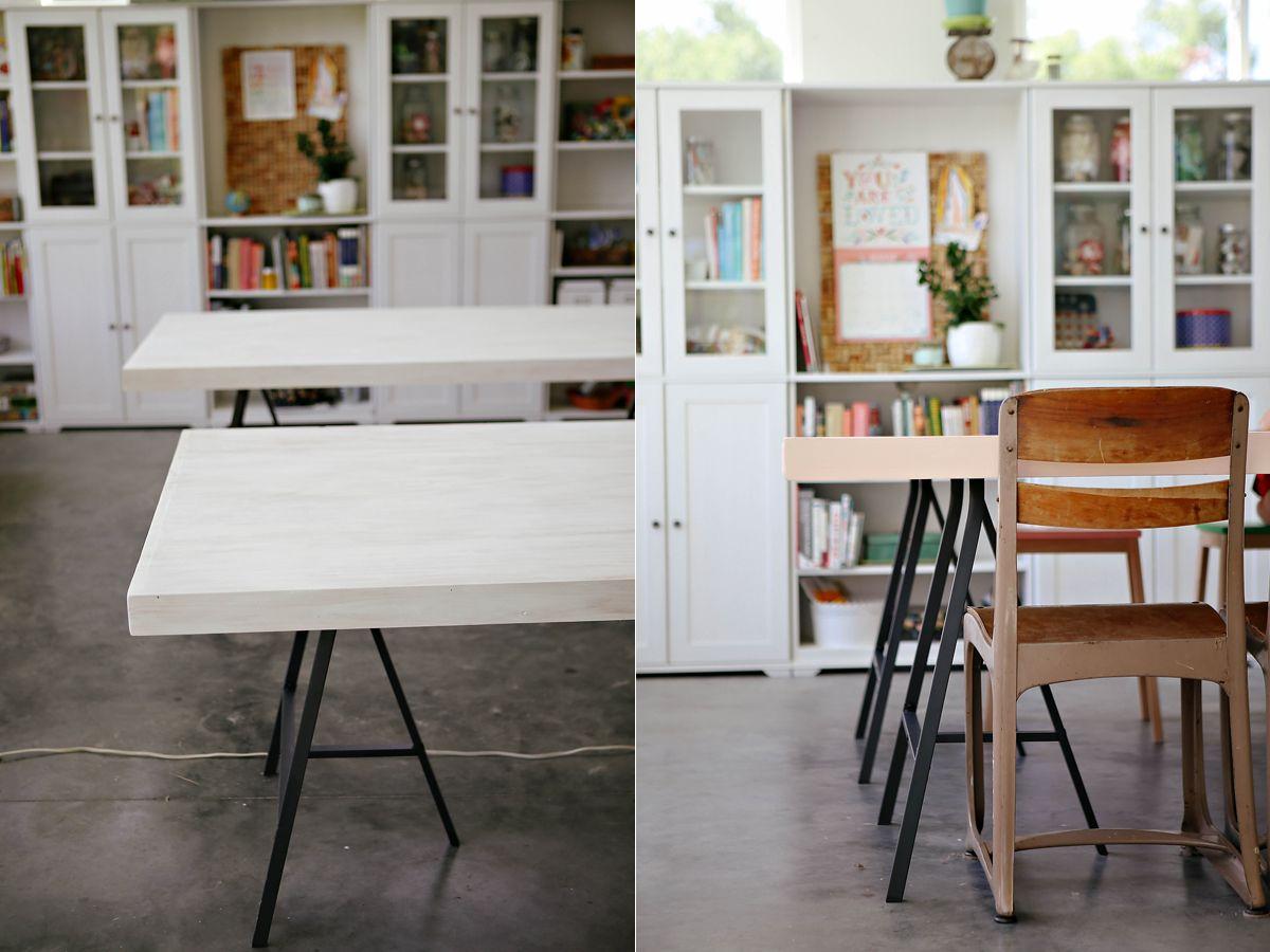 diy (Ikea lerberg trestle leg tables} Ikea, Trestle legs