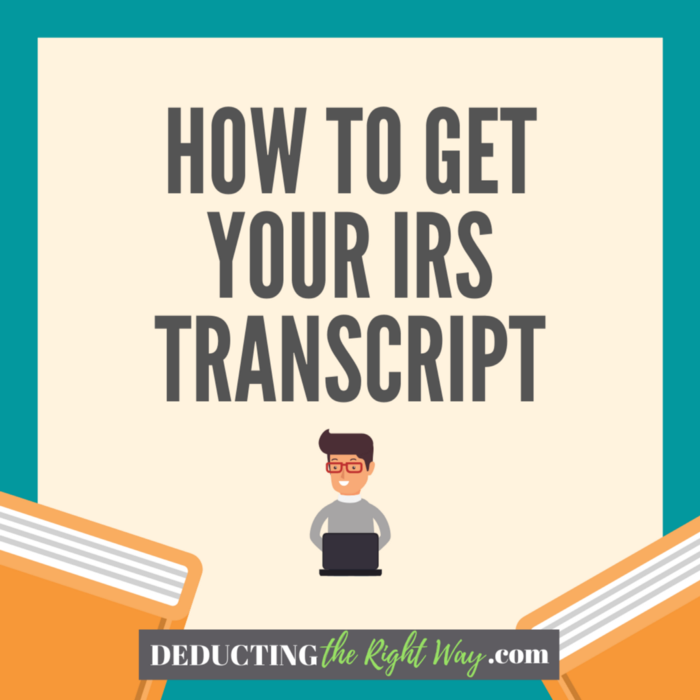 How To Get A Tax Transcript From Irs Online