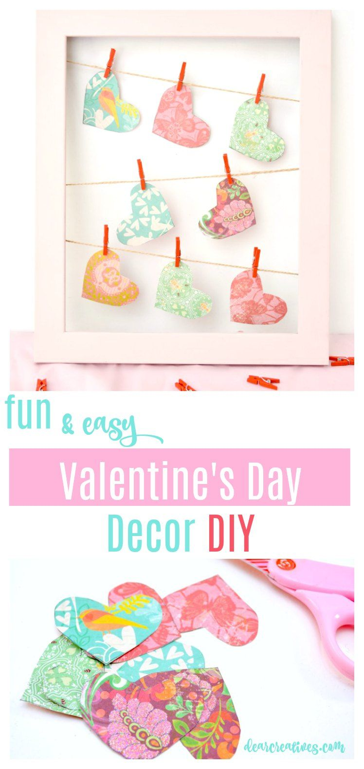 Fun, And Easy Valentineu0027s Day Home Decor DIY See How To Make This For Your
