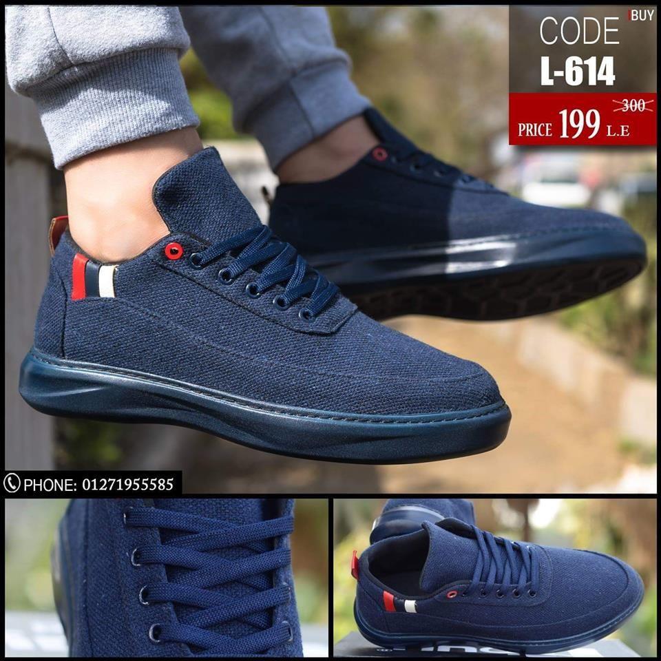 تصميم عصرى و شبابى يتميز بالبساطة الجاذبية الحذاء مصنوع من اجود الخامات و امتنها 1 قماش جينز 2 نعل مرن و مريح للقدم Sneakers Black Sneaker All Black Sneakers