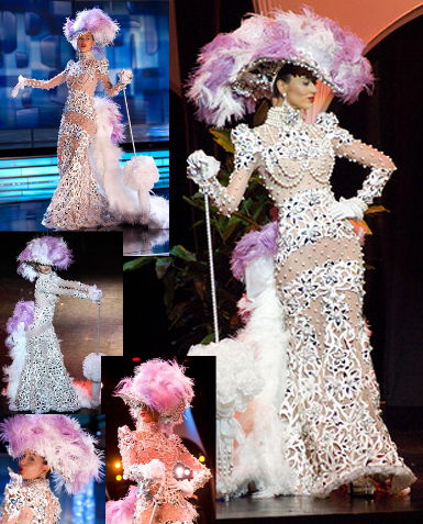 339186d40 ··The Miss Venezuela National Costumes:In-depth | Sexy Transparent ...