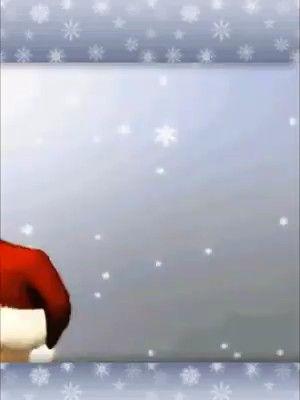 Christmas teddy kisses