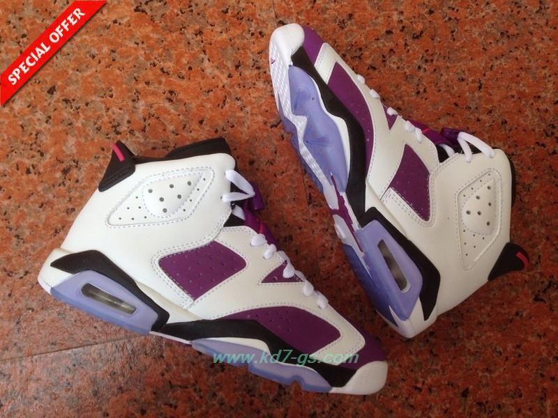 cb9cf12ad01 ... coupon code for air jordan 6 retro bright grape white purple 543389 127  for black friday