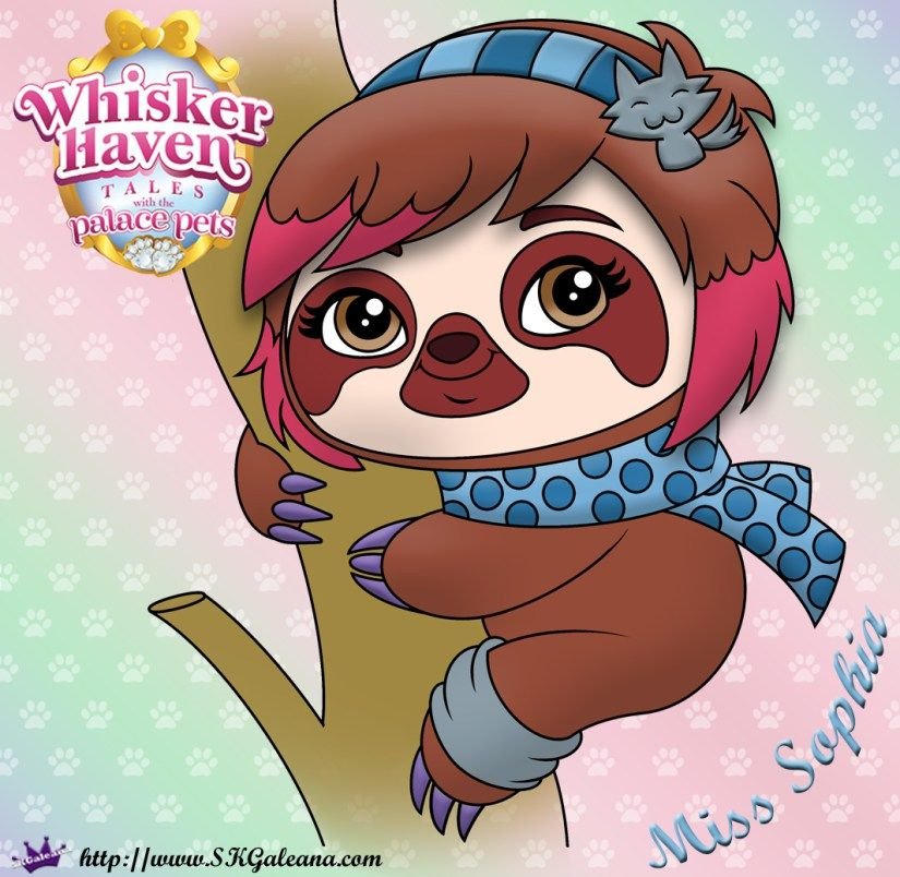 Whisker Haven Tales Coloring Page Of Miss Sophia Disney Princess Pets Disney Princess Palace Pets Pets Drawing