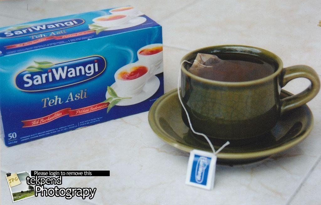 Sariwangi Black Tea Indonesian Minuman Teh