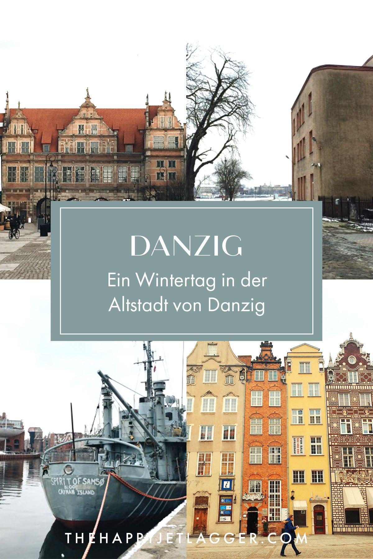 Gdansk Polen Eine Winterliche Altstadt Reisen Reisen In Europa Und Urlaub Im Winter