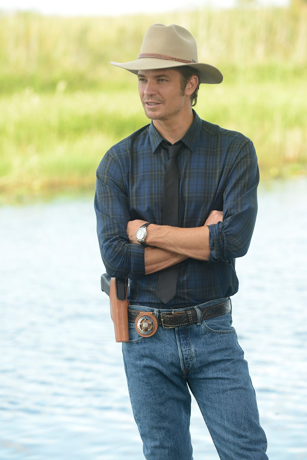 Timothy Olyphant as Raylan Givens in Justified   gorgeous ...