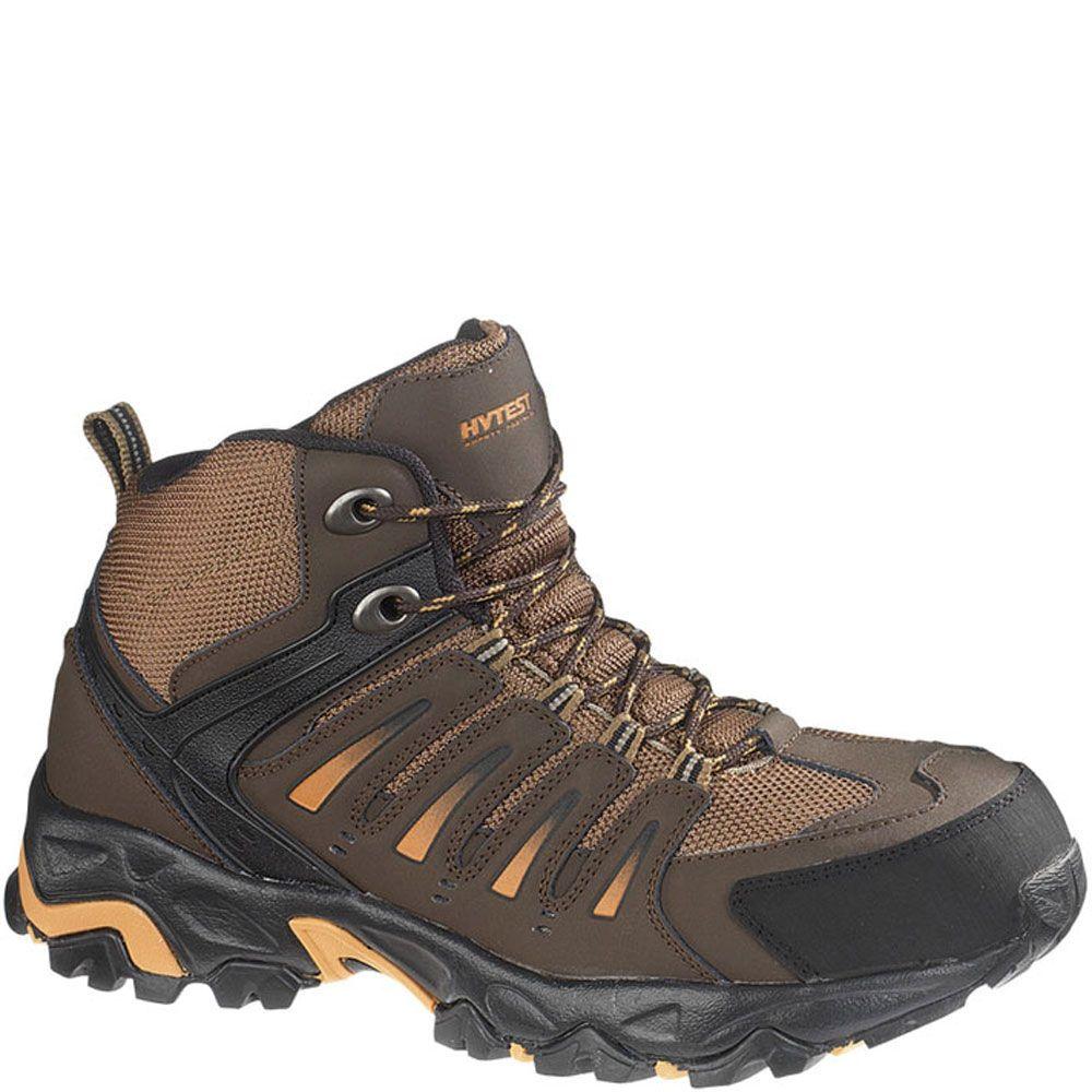 12151 hytest unisex multisport safety boots brown