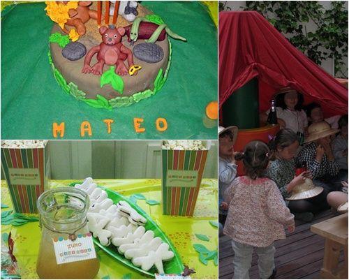 Cumpleaños Aventura en la jungla para Mateo