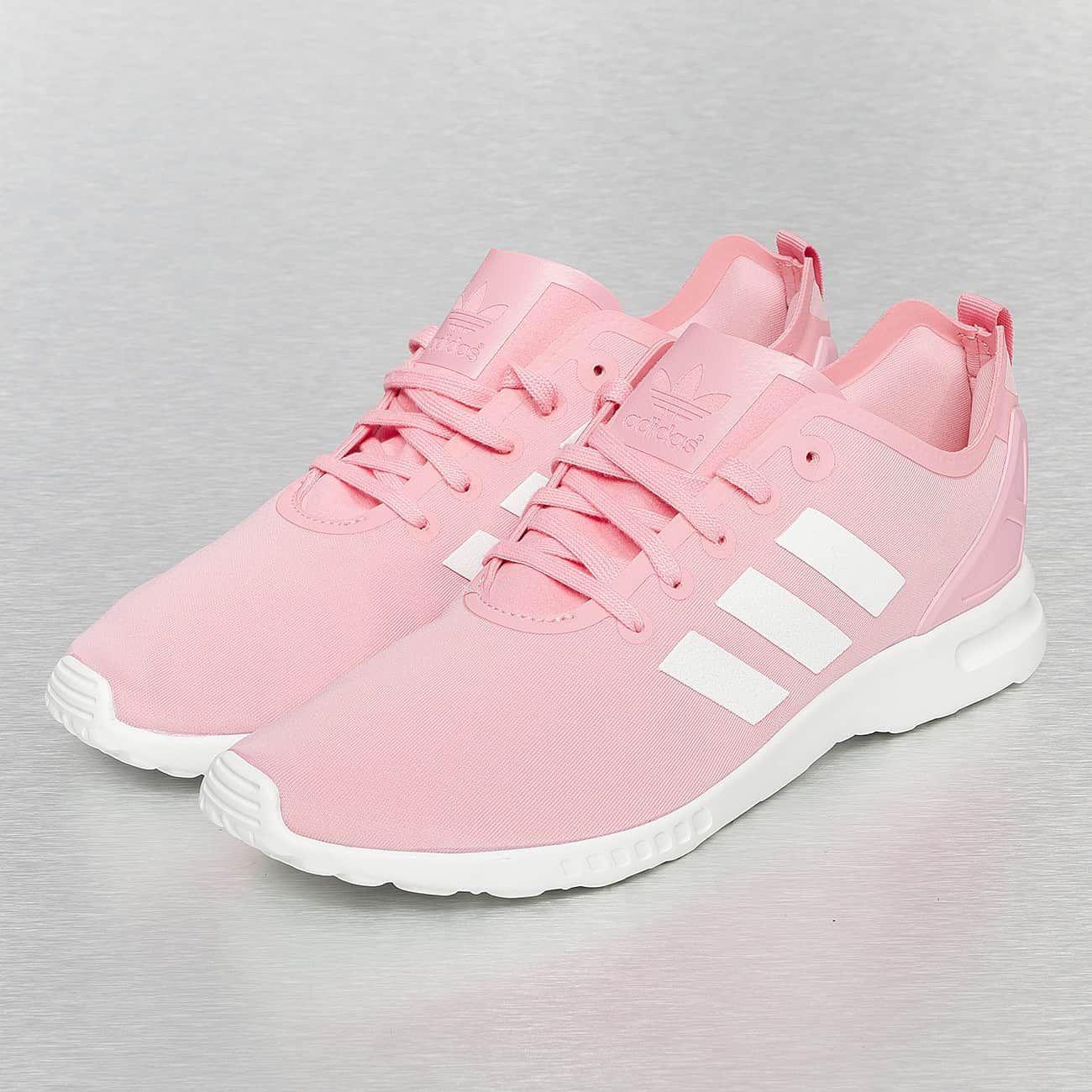 Adidas Zx Flux Weiß Pink