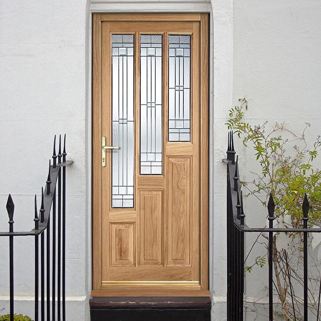 Coventry External Oak Door with Elegant Safety Tri Glazing & Coventry External Oak Door with Elegant Safety Tri Glazing ...