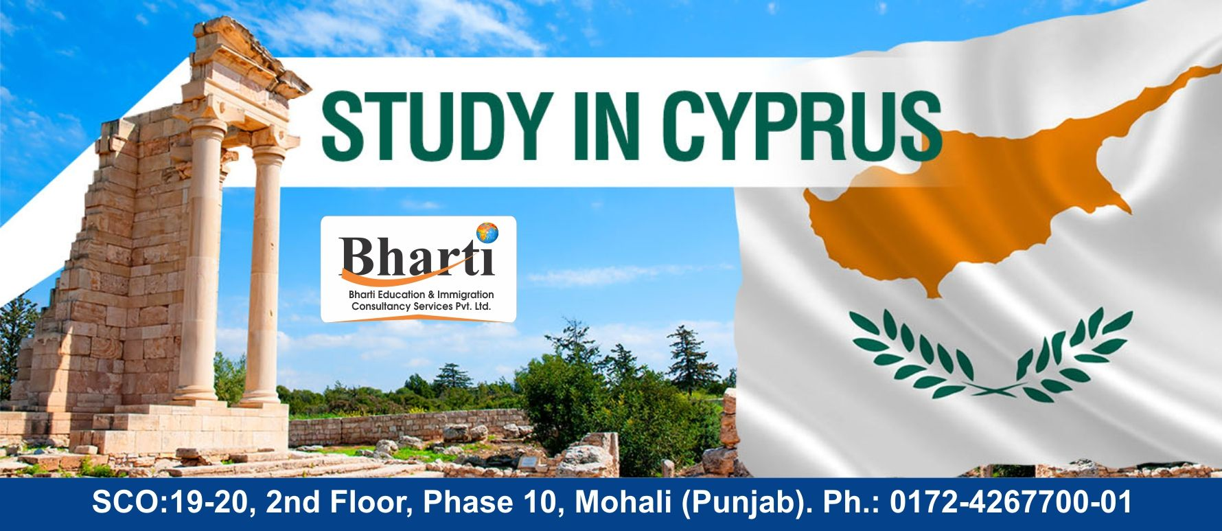 Want to Study in Cyprus?  Contact Bharti Immigration Consultancy Best Immigration Consultancy http://bhartigroup.in/  #Bharti #immigration #Bhartiimmigration #chandigarh #bestimmigrationConsultancy #studyvisa #study #visa #abroad #touristvisa #businessvisa #america #Australia #abroadvisa #newzeland #usa #canada #cyprus #singapore #tourist #immigrationservices #studyabroad #visaservice #visaconsultant #number1 #company #best #mohali #US #UK