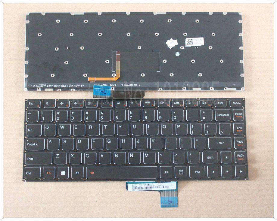 Us 100 New Laptop Keyboard For Lenovo Ideapad Yoga 2 13 14 Yoga2 13 U31 Us Keyboard Backlit Not Laptop Accessories Laptop Keyboard Lenovo Ideapad