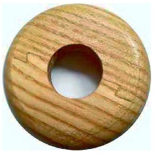Oak mm radiator wooden pipe collars multiple pack sizes
