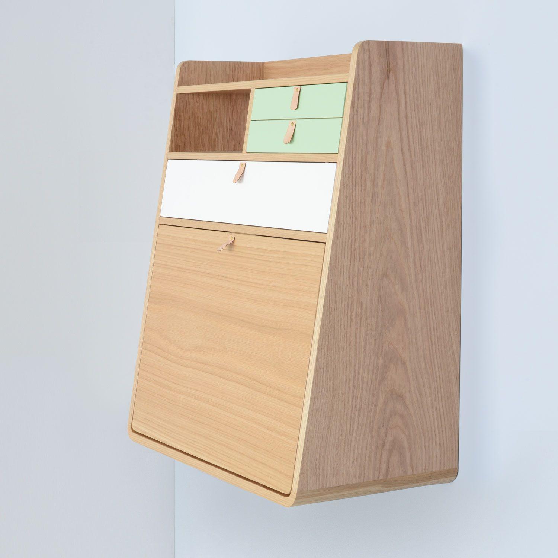 Gaston Wall Bureau by Harto | Shelving Units | Shelving & Storage ...