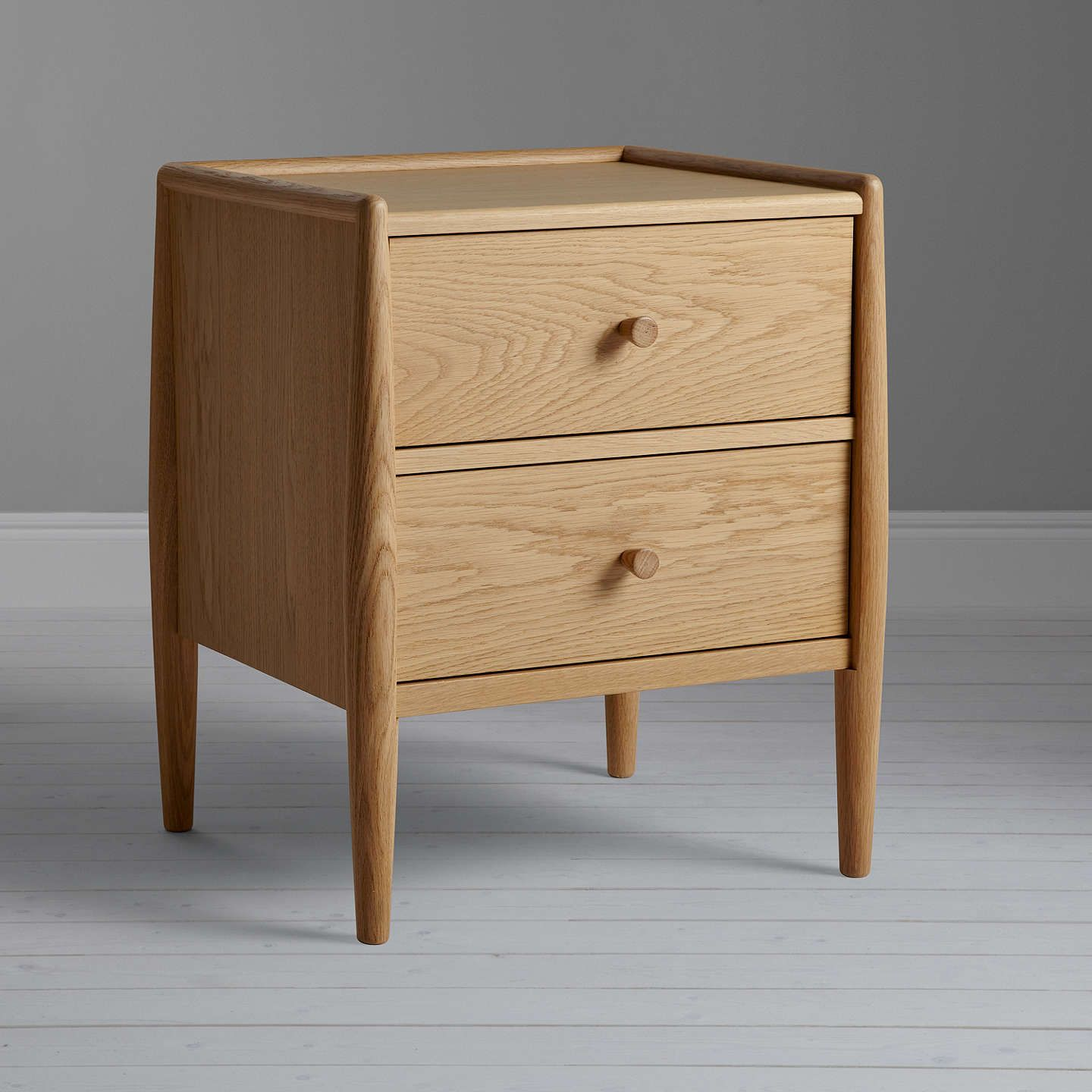 Best Ercol For John Lewis Shalstone 2 Drawer Bedside Table 400 x 300