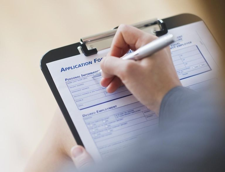 reasons for leaving a job on application form