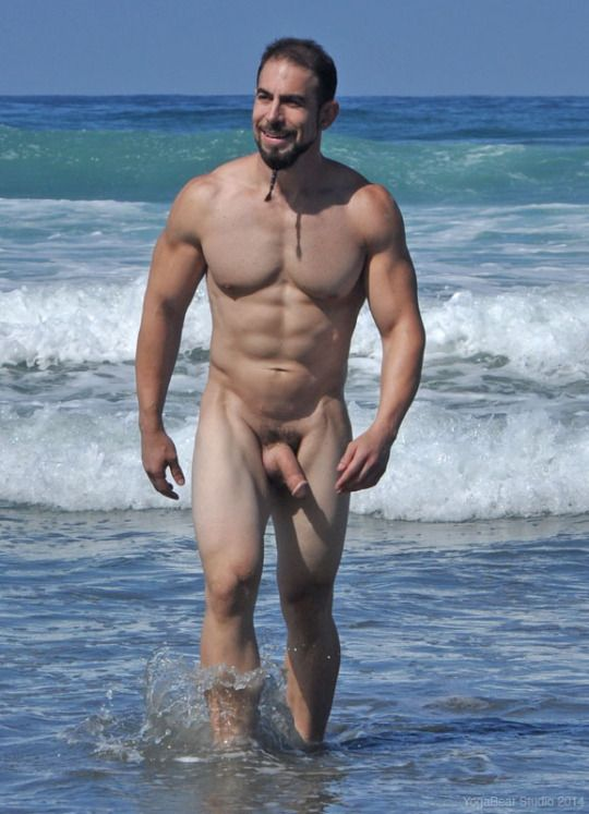 nudity nature of guy