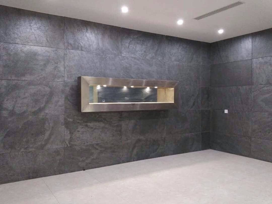 Silver Grey Natural Stone Feature Wall Stone Wall Cladding Stone Panels Stone Veneer