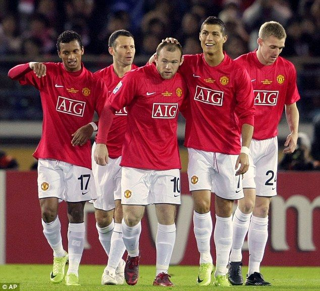 Most Awesome Manchester United Wallpapers 2008 Cristiano Ronaldo and Wayne Rooney