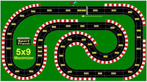 Cash For Cars Las Vegas >> Special Track Layouts For Specific Purposes : Slot Cars, Slot Car Track Sets, Digital Slot Cars ...