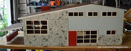 Exterior of Betsy McCall Doll House