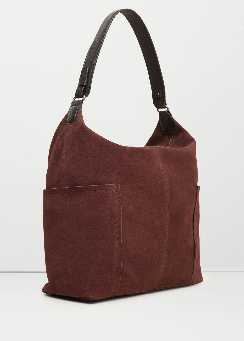 725af4162 Bolso hobo piel - Mujer | Bolsos | Bags, Mango outlet y Leather