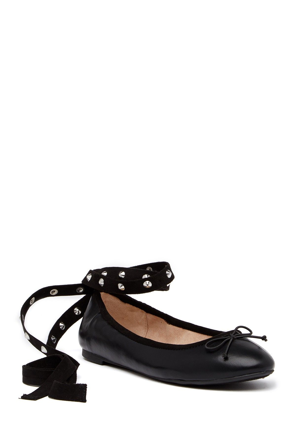31dfe44fbd98 Celyn Studded Lace-Up Ballet Flat by CIRCUS BY SAM EDELMAN on  HauteLook