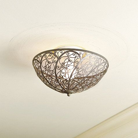 Celine Clip On Ceiling Shade  available at ballarddesigns com   gray     Celine Clip On Ceiling Shade  available at ballarddesigns com