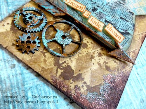 yaya scrap & more: 12 TAGS OF 2015 JULY : ANOTHER STEAMPUNK VERSION!