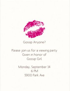 How to Throw a Gossip Girl Party!   Party Ideas   Gossip