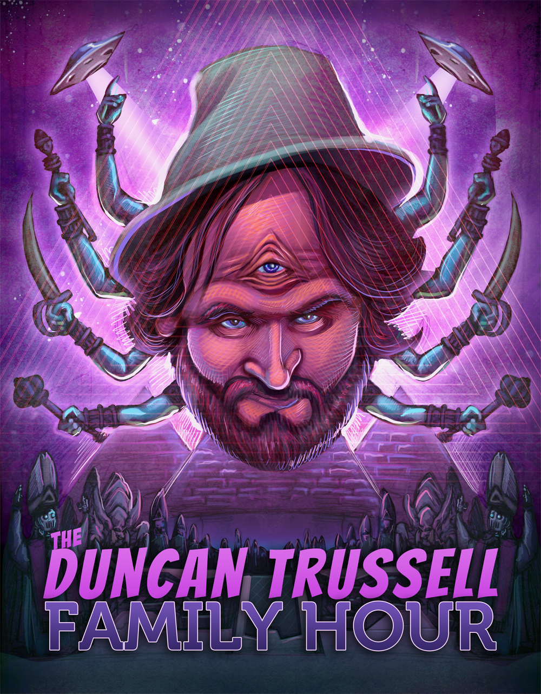 The Duncan Trussell Family Hour em The Midnight Gospel
