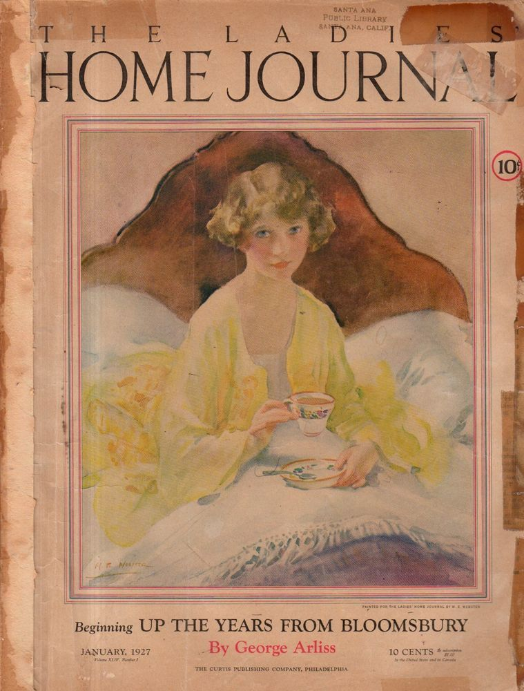 Details about 1927 Ladies Home Journal January