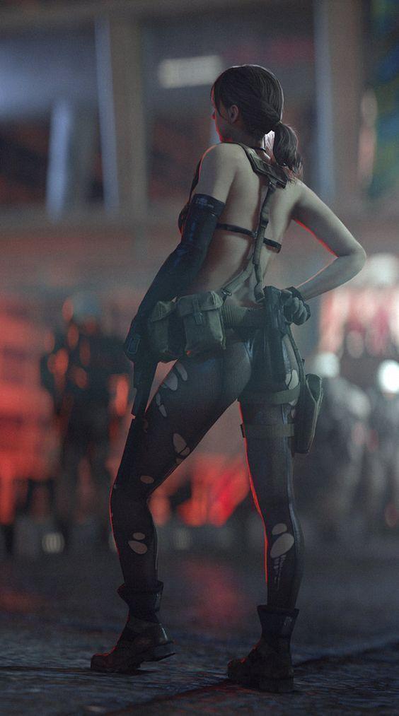 Metal Gear Solidquiteso Hot Metalgear Quite Cosplayclass Gaming Cosp Metal Gear Solid Quiet Metal Gear Metal Gear Solid