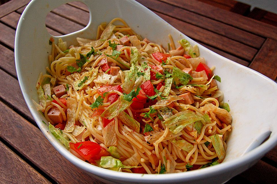 Photo of Fiery spaghetti salad by kochfee182 | Chef