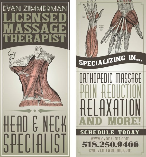 business card ideas massage therapy practice pinterest