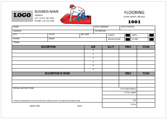 carpet_installation_invoice_template_5 templates printable free free printables printable invoice invoice template carpet installation