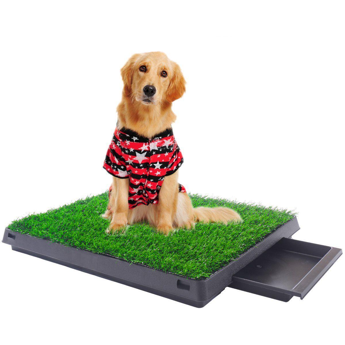 Iluvmyhome Anti Slip Pet Park Indoor Potty Dog Grass Mat Training