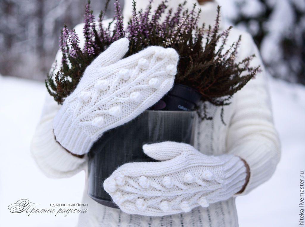 ведь есть фото зима природа варежки может