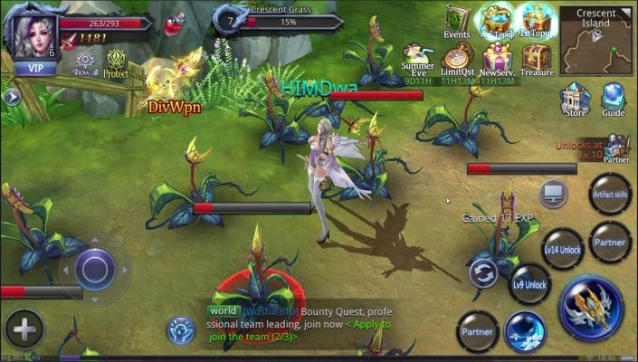 Demoncer is a Android Free 2 play Role Playing Multiplayer