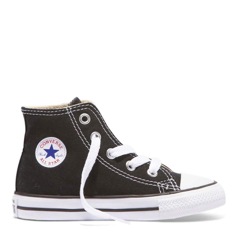 all black converse high tops kids