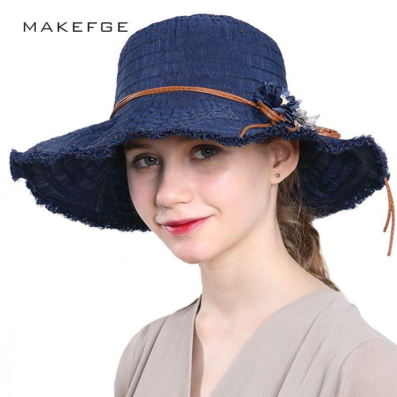 Fashion Bohemian Style High Quality Cloth Summer Sun Hat For Women Hat  Large Visors Beach Hat Sun Cap  sunhatsforwomenboho 3e029728f48